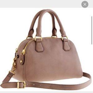 J. Crew biennial medium leather satchel